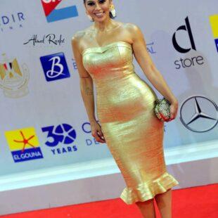 lekaa elkhamissi gold dress fngml 10