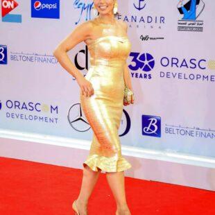 lekaa elkhamissi gold dress fngml 22