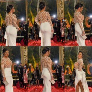 Rania youssef sexy big ass white dress