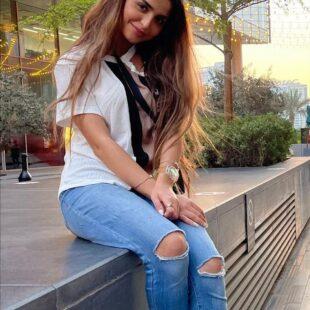 hala al turk gorgeous sexy wear blue pants 03